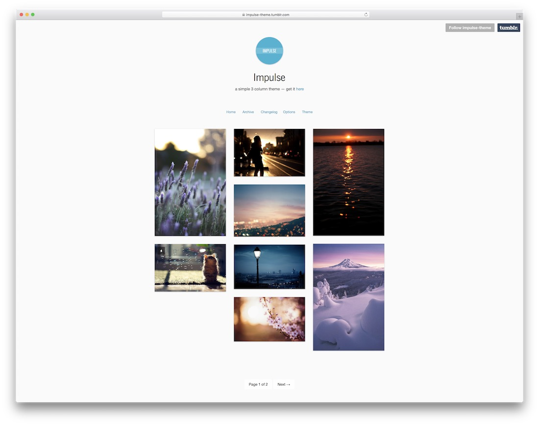 Summary -> 26 Best Highly Flexible And Free Tumblr Themes 2019 Colorlib